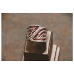 Cigar Band Designed Ring