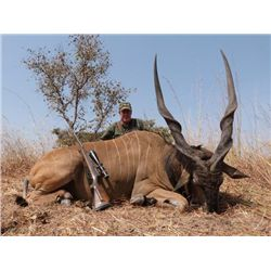 13-day Cameroon Lord Derby Eland Hunt and Taxidermy for One Hunter and One Observer
