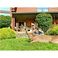 5-day Pennsylvania Northeastern White-tailed Deer Hunt for Two Hunters