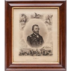 Civil War Era Ulysses S. Grant Lithograph