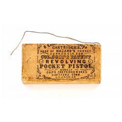 Civil War Era Colt Woodblock Packet