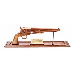 Impressive Triple Scale Model of Colt 1860 Army