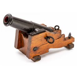 1/4-Scale Model of Civil War Naval Cannon