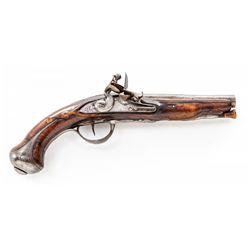 French Flintlock Officer's Pistol