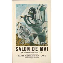 Pablo Picasso : Salon de Mai Paris Tradeshow Art Print