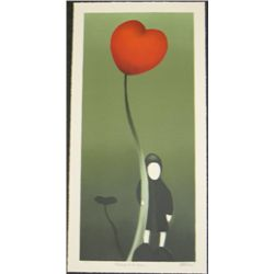 Mackenzie Thorpe Holding Onto Love Art Print