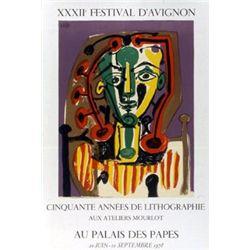 Pablo Picasso Art Print XXXII Festival d'Avignon