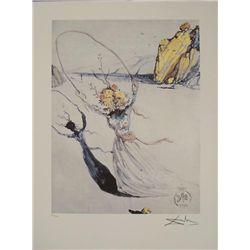 Salvador Dali : Transcendent Passage Art Print