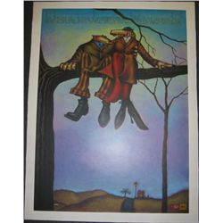 Markus Pierson High Ltd Ed. Art Print on Canvas