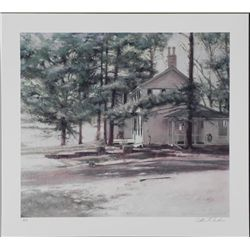 William Chambers Signed AP House Art Print Home