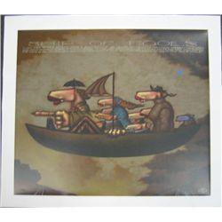 Markus Pierson Ship of Fools Ltd Ed Art Print on Canvas