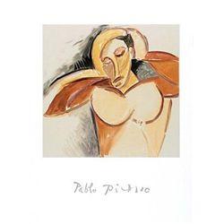 Pablo Picasso Marina Art Print La Demoiselle d'Avignon