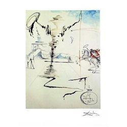 Salvador Dali Don Quixote Art Print