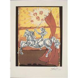 Salvador Dali : Ivanhoe Surrealistic Art Print