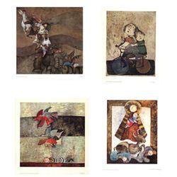 4 Different Graciela Rodo Boulanger Art Prints