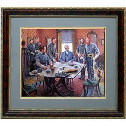 Mort Kunstler Civil War Framd Art Print Gods & Generals