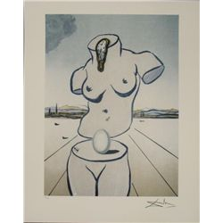Salvador Dali : The Birth of Venus Erotic Art Print