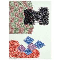 Jonathan Lasker -Unconscious Construct Art Print