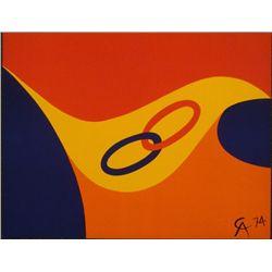 Alexander Calder Friendship Braniff Airlines Art Print