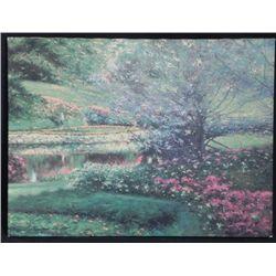 Richard Earl Thompson Signed Print Impressionist Art