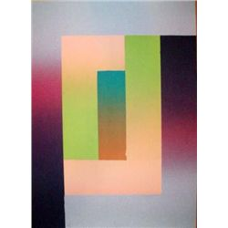 Larry Bell Signed LE Art Print Barcelona 5