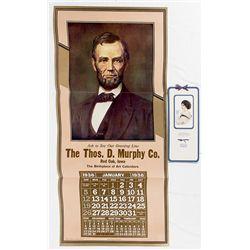 Lincoln Broadside Calendar -