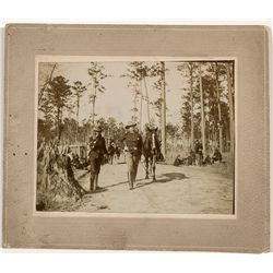 Theo. Roosevelt Spanish-American War Photo -