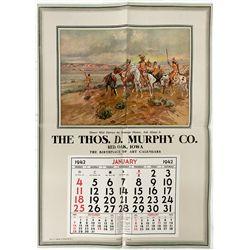 Russell Broadside Calendar - Red Oak , IA