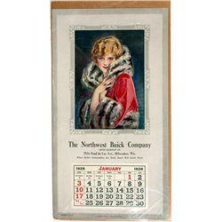 1926 Buick Calendar -