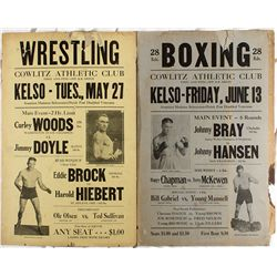 Boxing & Wrestling Posters -