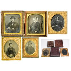 Civil War Era Daguerreotypes -