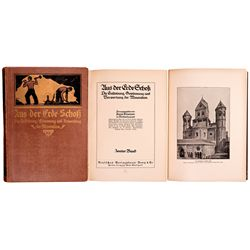 German Mining Books Set -
