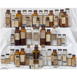 Collection of labeled homeopathic remedies, all by Boericke & Tafel.  -