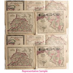 Series of 1864 United States Maps -