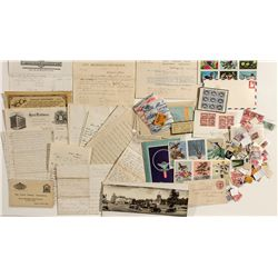 Western & Other Letter Head & Postcard Group -