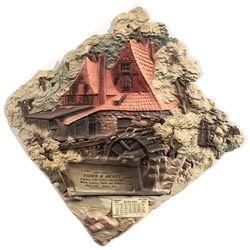 1911 Bisbee Die Cut Letter Holder - Bisbee, AZ