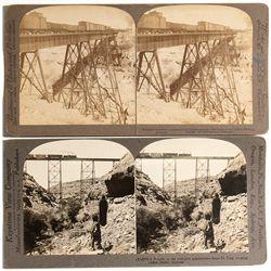 Canyon Diablo Stereoview Cards - Flagstaff, AZ