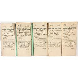 Arizona Constable Papers *Territorial* - Graham County, AZ