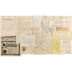 Arizona Correspondence *Territorial* - Graham County, AZ