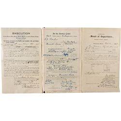 Arizona Legal Documents *Territorial* - Graham County, AZ