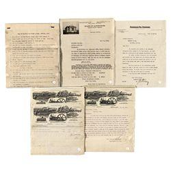 Early AZ. Transaction Papers - Graham County, AZ