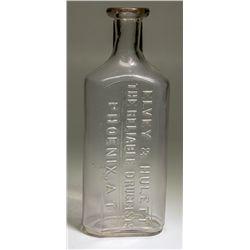 Rare Arizona Drug Bottle - Phoenix, AZ