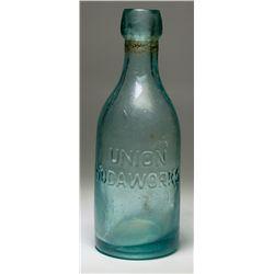 Union Blob Soda Bottle, Tombstone - Tombstone, AZ