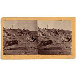 Vulture Mine Stereoview - Vulture Mine, AZ