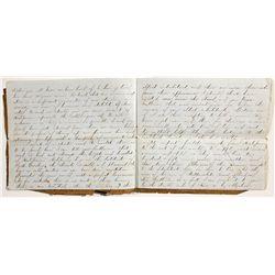 Salmon P. Chase California Gold Rush Manuscript Speech Original Document -  CA