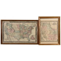Two Early Maps -  CA