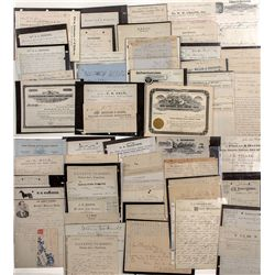 Major Idaho Town Document Collection  -  ID