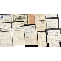 Boise Idaho Document Collection c1863-1890 - Boise, ID