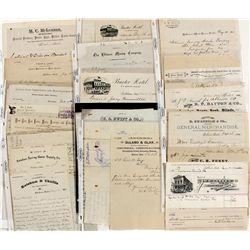 Ketchum & Bellevue Document Collection c1880s - Ketchum, ID