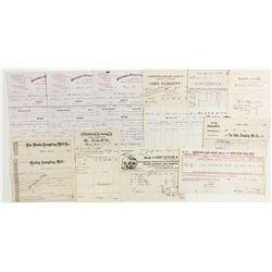 Idaho Territory Mining Documents Group - Silver City, ID